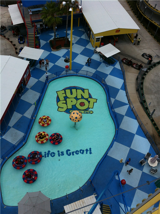An afternoon of fun at Fun Spot!