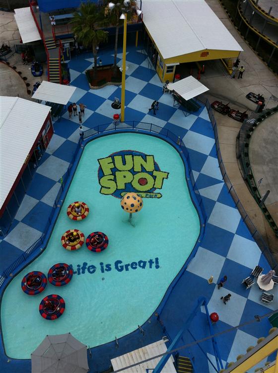 An afternoon of fun at Fun Spot!