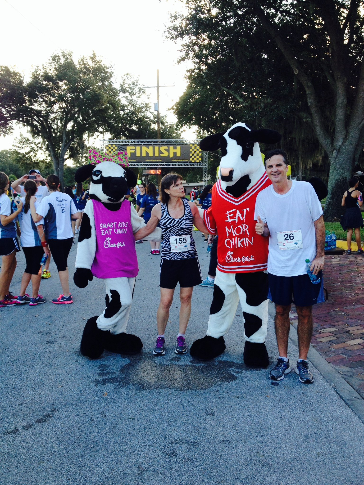 Brad and Sue Run with the Herd 5k 10 11 14