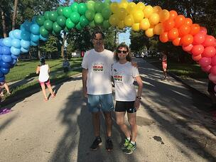 Brad-Sue Rainbow Run 2018